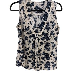 Collective Concepts Floral Sleeveless Blouse L